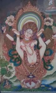 Mahendra Dangwol White Sukhasiddhi Yogini, 2009.